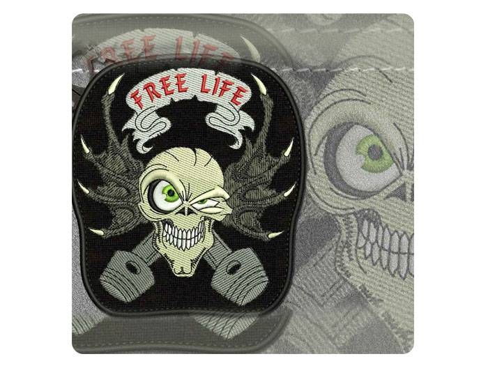 Custom Embroidered Biker Vest Patches | Custom Biker Patches